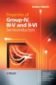 Properties of Group-IV, III-V and II-VI Semiconductors (0470090324) cover image