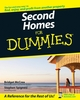 Second Homes for Dummies (0470105224) cover image