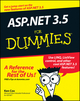 ASP.NET 3.5 For Dummies (0470195924) cover image