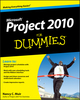 Project 2010 For Dummies (0470501324) cover image