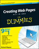 Creating Web Pages All-in-One For Dummies, 4th Edition (0470640324) cover image