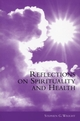 Reflections on Spirituality and Health (0470778024) cover image
