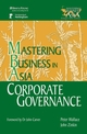 Corporate Governance in the Mastering Business in Asia series  (0470821124) cover image