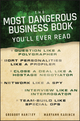 The Most Dangerous Business Book You'll Ever Read (0470888024) cover image