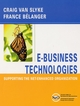 E-Business Technologies: Supporting the Net-Enhanced Organization (0471393924) cover image