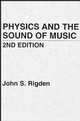 Physics and the Sound of Music, 2nd Edition (0471874124) cover image
