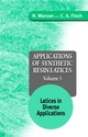 Applications of Synthetic Resin Latices , Volume 3, Latices in Diverse Applications  (0471954624) cover image