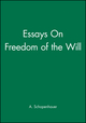 Essays On Freedom of the Will (0631145524) cover image
