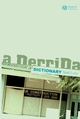 A Derrida Dictionary (0631218424) cover image