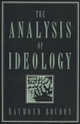 The Analysis of Ideology (0745605524) cover image