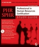 PHR/SPHR: Professional in Human Resources Certification®Study Guide (0782142524) cover image