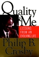 Quality and Me: Lessons from an Evolving Life (0787947024) cover image