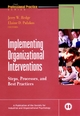 Implementing Organizational Interventions: Steps, Processes, and Best Practices (0787957224) cover image
