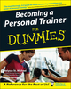 Becoming a Personal Trainer For Dummies (1118054024) cover image
