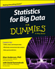 Statistics for Big Data For Dummies (1118940024) cover image