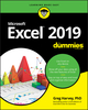 Excel 2019 For Dummies (1119513324) cover image