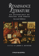 Renaissance Literature: An Anthology of Poetry and Prose, 2nd Edition (1405150424) cover image