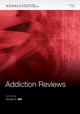 Addiction Reviews 3, Volume 1216 (1573318124) cover image