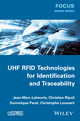 UHF RFID Technologies for Identification and Traceability (1848215924) cover image