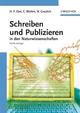 Schreiben und Publizieren in den Naturwissenschaften, 5. Auflage (3527308024) cover image