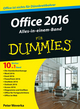 Office 2016 für Dummies Alles-in-einem-Band (3527805524) cover image