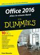 Office 2016 für Dummies Alles-in-einem-Band (3527805524) cover image
