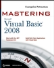 Mastering Microsoft Visual Basic 2008 (0470187425) cover image