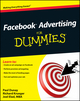 Facebook Advertising For Dummies (0470637625) cover image
