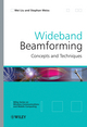 Wideband Beamforming: Concepts and Techniques (0470713925) cover image
