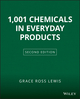 1001 Chemicals in Everyday Products, 2nd Edition (0471292125) cover image