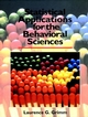 Statistical Applications for the Behavioral Sciences (0471509825) cover image