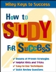 How to Study for Success (0471708925) cover image