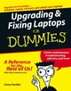Upgrading & Fixing Laptops For Dummies (0471783625) cover image