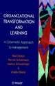 Organizational Transformation and Learning: A Cybernetic Approach to Management (0471961825) cover image