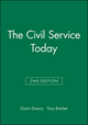 The Civil Service Today, 2nd Edition (0631181725) cover image
