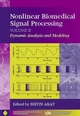 Nonlinear Biomedical Signal Processing, Volume 2: Dynamic Analysis and Modeling (0780360125) cover image