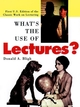 What's the Use of Lectures?: First U.S. Edition of the Classic Work on Lecturing (0787951625) cover image