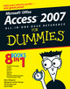Microsoft Office Access 2007 All-in-One Desk Reference For Dummies (1118050525) cover image