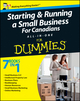 Starting and Running a Small Business For Canadians For Dummies All-in-One (1118172825) cover image