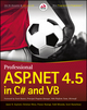 Professional ASP.NET 4.5 in C# and VB (1118311825) cover image