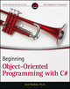 Beginning Object-Oriented Programming with C# (1118336925) cover image