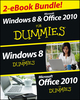 Windows 8 & Office 2010 For Dummies eBook Set (1118605225) cover image