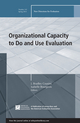 Organizational Capacity to Do and Use Evaluation: New Directions for Evaluation, Number 141 (1118870425) cover image