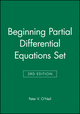 Beginning Partial Differential Equations Set, 3rd Edition