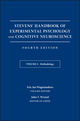 Stevens' Handbook of Experimental Psychology and Cognitive Neuroscience, Volume 5, Methodology, 4th Edition (1119170125) cover image