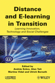 Distance and E-learning in Transition: Learning Innovation, Technology and Social Challenges (1848211325) cover image
