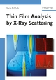 Thin Film Analysis by X-Ray Scattering (3527310525) cover image