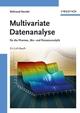 Multivariate Datenanalyse: für die Pharma, Bio- und Prozessanalytik (3527312625) cover image