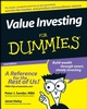 Value Investing For Dummies, 2nd Edition (0470232226) cover image