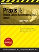 CliffsNotes Praxis II: Middle School Mathematics Test (0069) Test Prep (0470278226) cover image